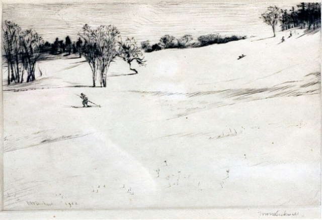 Country Ski Jump, Aldro T. Hibbard