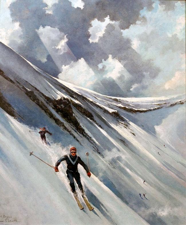 The Ravine, Eric Sloane