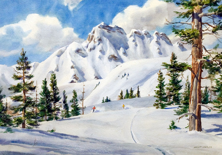 Powder Snow, Dwight Shepler