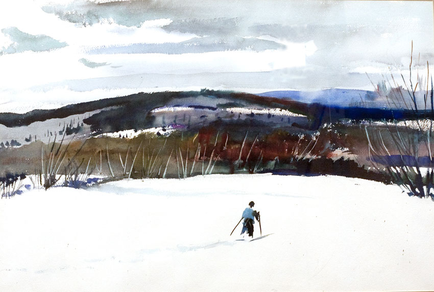New Hampshire Hills, Andrew Wyeth