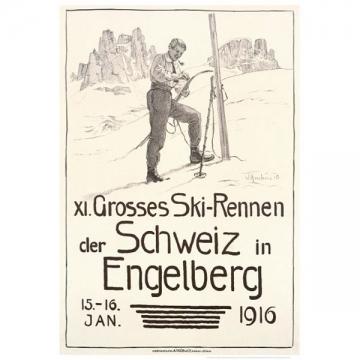 XI Grosses Ski-Rennen Engelberg