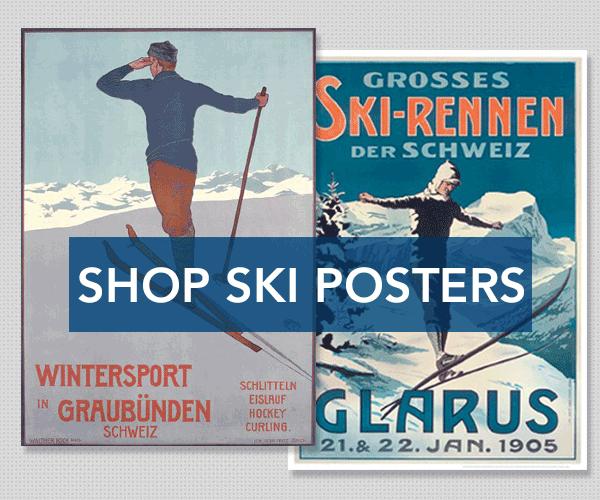 Shop Ski Poster